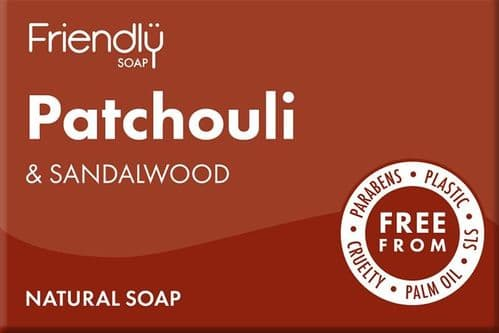 Friendly Soap Natural Patchouli & Sandalwood Bar